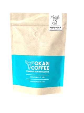 Moitié-Moitié Blend (Half Caff Coffee)